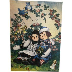 Raggedy Ann & Andy with Fairies Picture